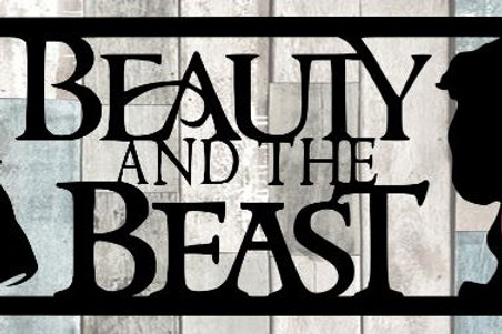 Beauty And The Beast Scrapbook Title