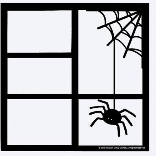 Spider Scrapbook Overlay
