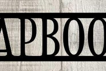 Scrapbooker Scrapbook Page Title Single