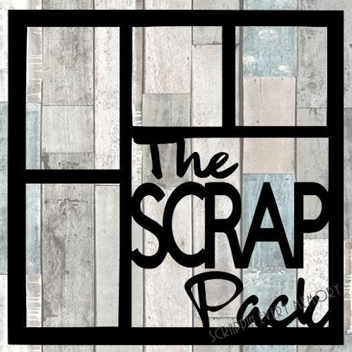 The Scrap Pack Scrapbook Overlay