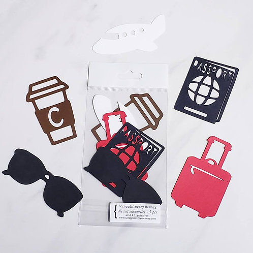 Travel Die Cut Silhouette Mini Set