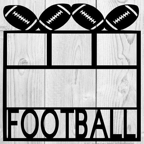 Football Scrapbook Overlay