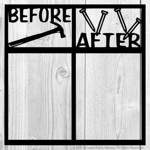 Before After Scrapbook Overlay