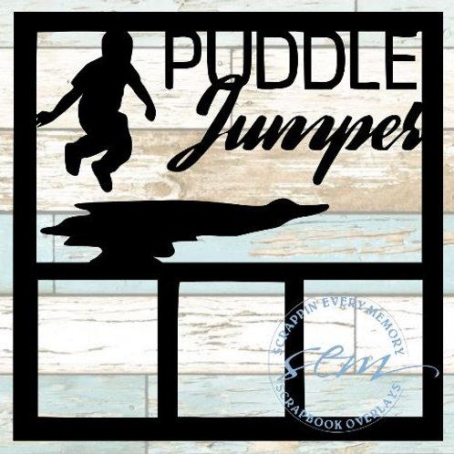 Puddle Jumper Scrapbook Overlay