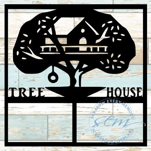 Tree House Scrapbook Overlay