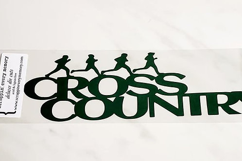 Cross Country Scrapbook Deluxe Die Cut