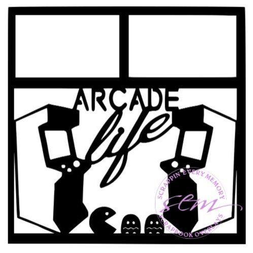 Arcade Life Scrapbook Overlay