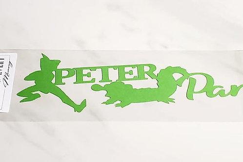 Peter Pan Scrapbook Deluxe Die Cut