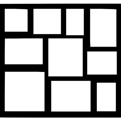 Frame 417 Scrapbook Overlay