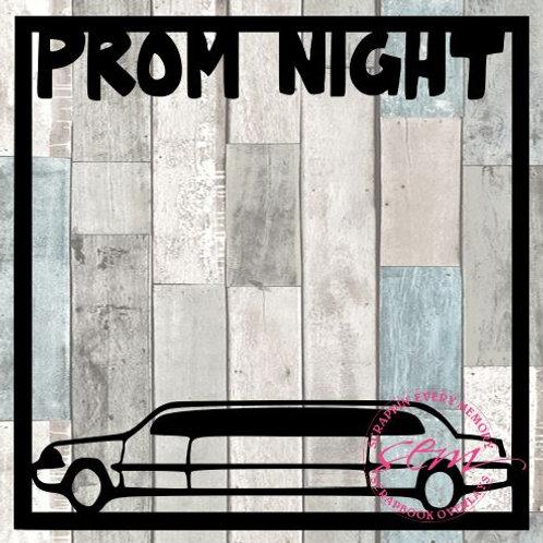 Prom Night Scrapbook Overlay