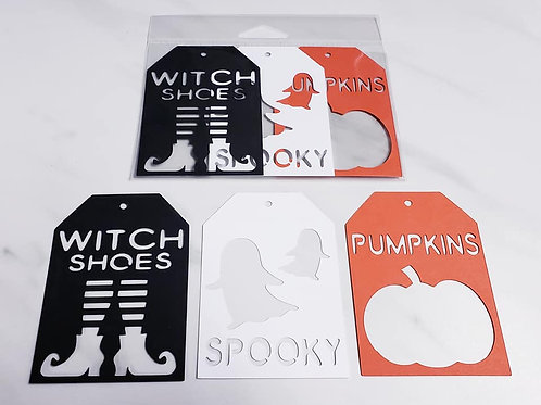 Halloween Deluxe Word Tags
