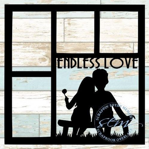 Endless Love Scrapbook Overlay