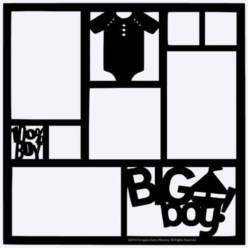 Big Boy Scrapbook Overlay