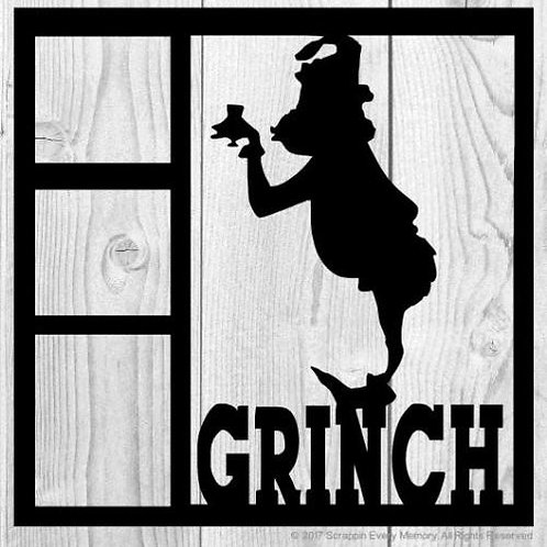 Grinch Scrapbook Overlay
