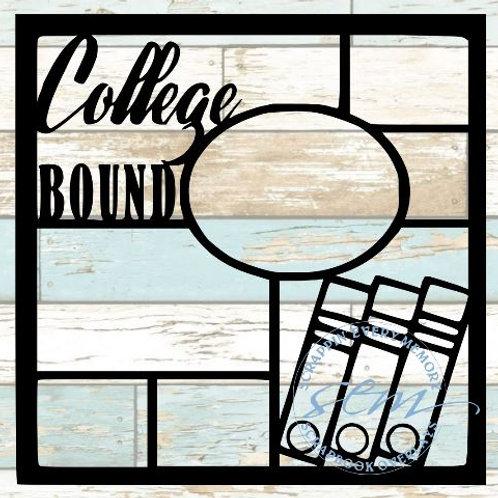 College Bound Scrapbook Overlay