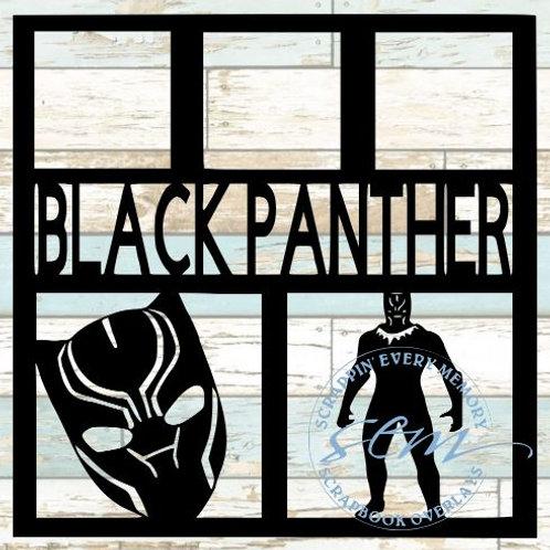 Black Panther Scrapbook Overlay