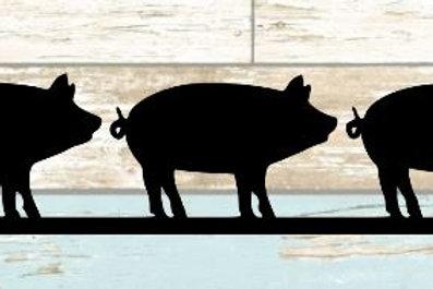 Pigs Scrapbook Border