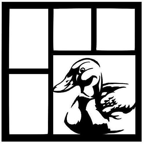 Duck Scrapbook Overlay