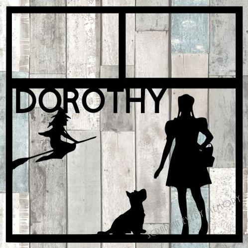 Dorothy Scrapbook Overlay