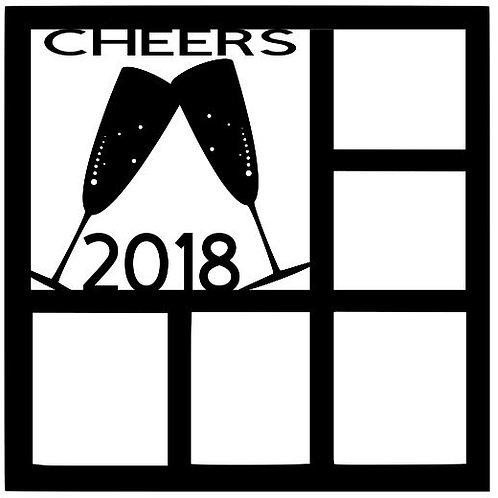 Cheers 2018 Scrapbook Overlay