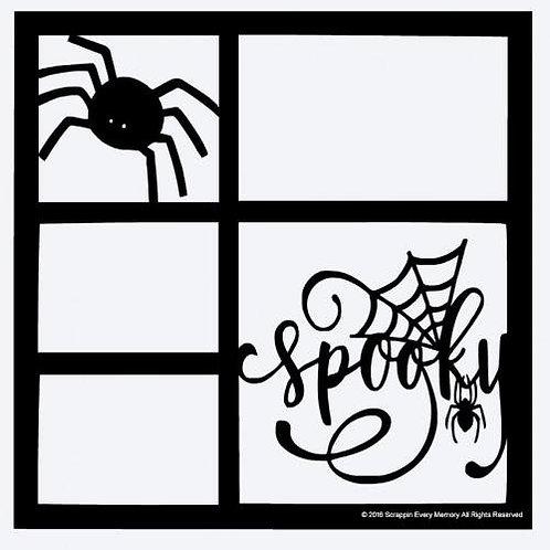 Spooky Scrapbook Overlay