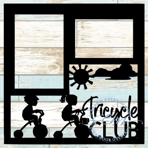 Tricycle Club Scrapbook Overlay