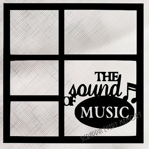 The Sound Of Music Scrapbook Overlay
