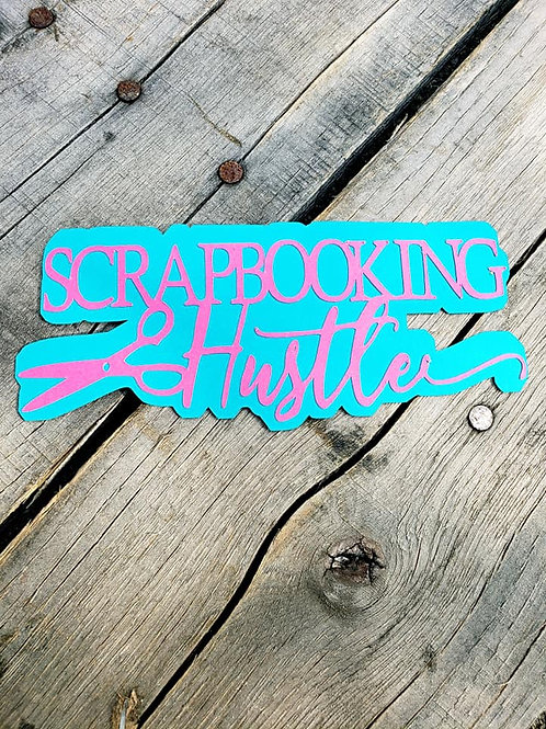 Scrapbooking Hustler Paper Piecing Die Cut
