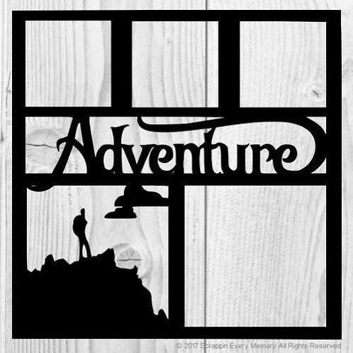 Adventure Scrapbook Overlay