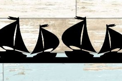 Sailboat Scrapbook Border
