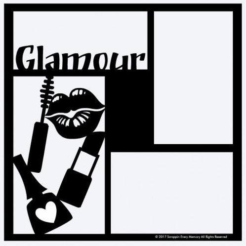 Glamour Scrapbook Overlay