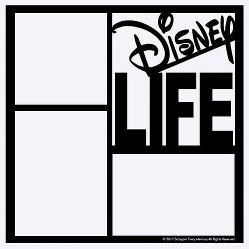Disney Life Scrapbook Overlay