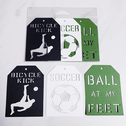 Soccer Deluxe Word Tags