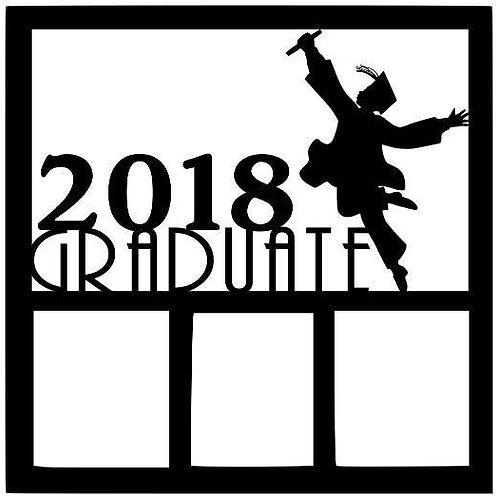 2018 Graduate Scrapbook Overlay