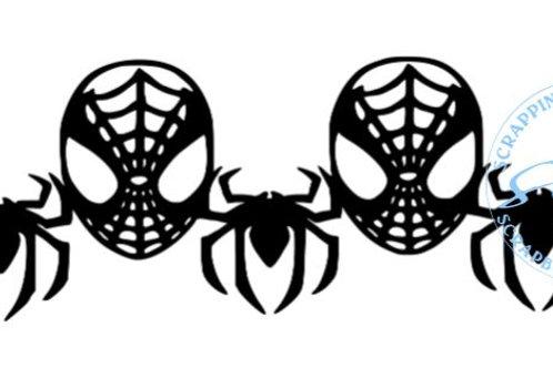 Spiderman Scrapbook Border