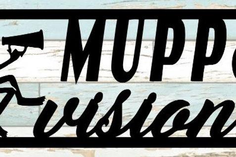 Muppet Vision Scrapbook Title