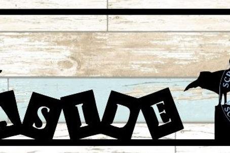 Seaside Scrapbook Title