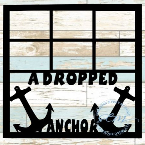 A Dropped Anchor Scrapbook Overlay