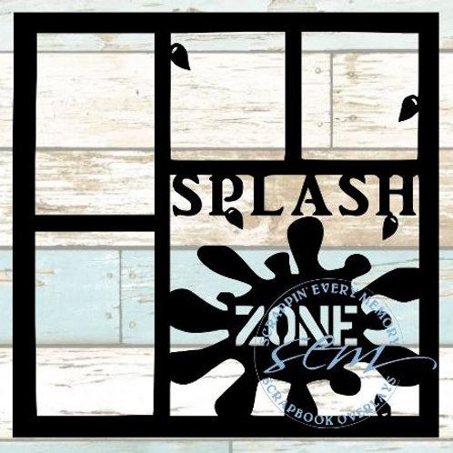 Splash Zone Scrapbook Overlay