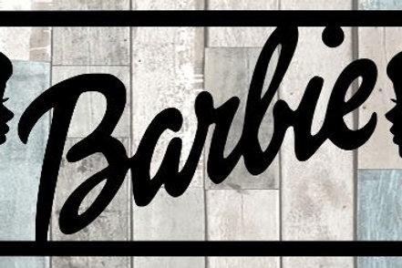 Barbie Scrapbook Title