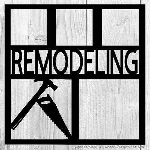 Remodeling Scrapbook Overlay