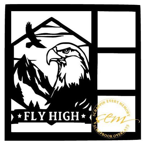 Fly High Scrapbook Overlay