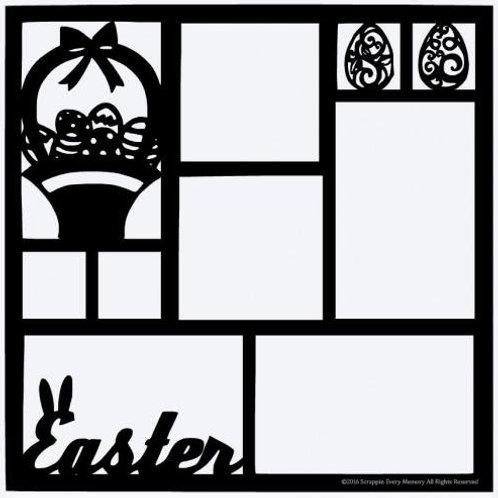 Easter Scrapbook Overlay