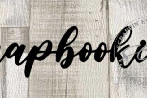 Scrapbooking Scrapbook Page Script Single