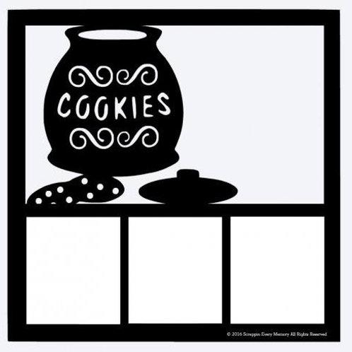 Cookies Scrapbook Overlay