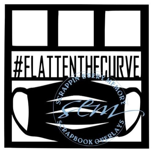Flatten The Curve Scrapbook Overlay