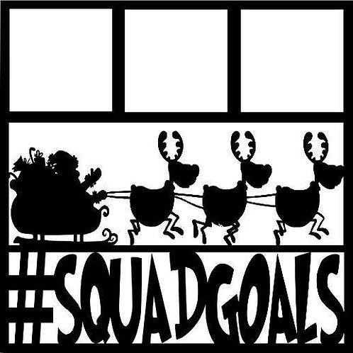 Santa Squadgoals Scrapbook Overlay