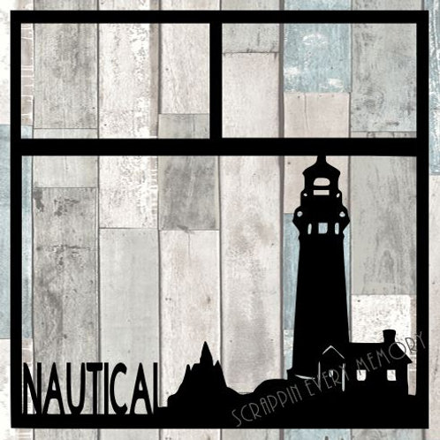 Nautical Scrapbook Overlay