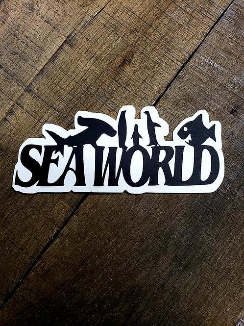 Sea World Paper Piecing Die Cut
