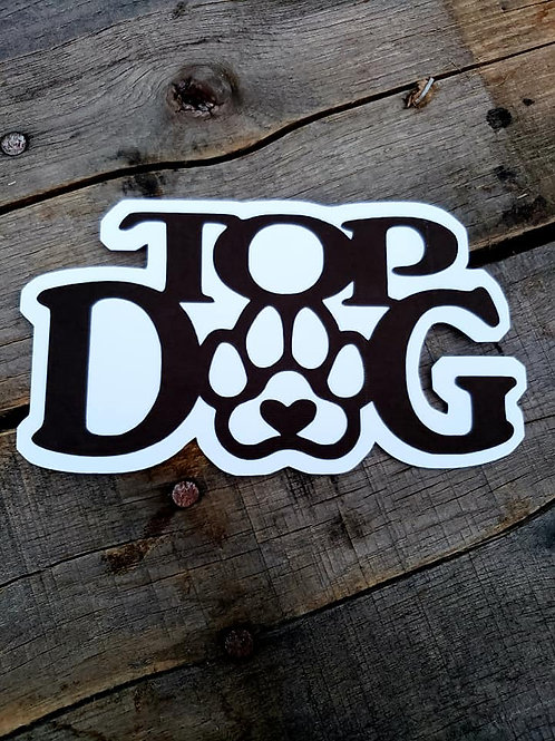 Top Dog Paper Piecing Die Cut